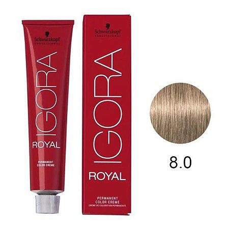 COLORACAO IGORA ROYAL8-0 60G