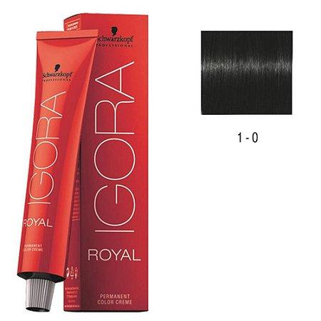 COLORACAO IGORA ROYAL 1-0 60G