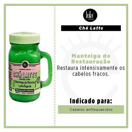 CHA LATTE MANTEIGA DE CHA VERDE 300G
