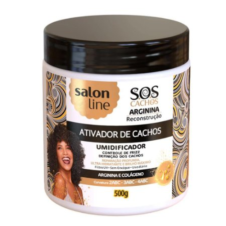 ATIVADOR ARGININA SALON LINE 500G