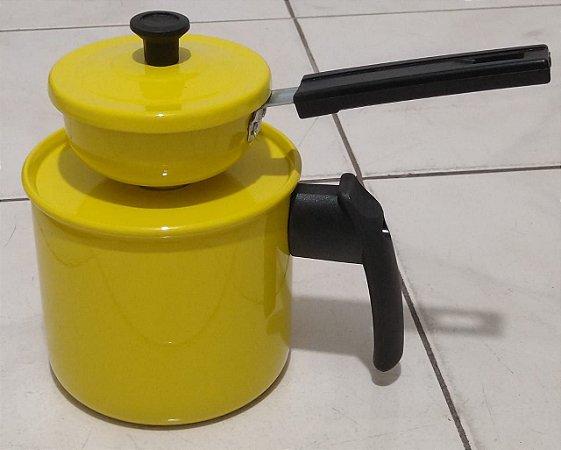 Cuscuzeira Paulistinha Com 1 Peça 120mm Esmaltada
