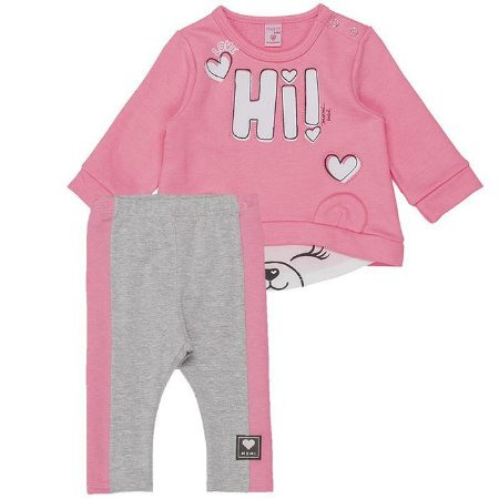 Conjunto Infantil Feminino Hi! - Momi
