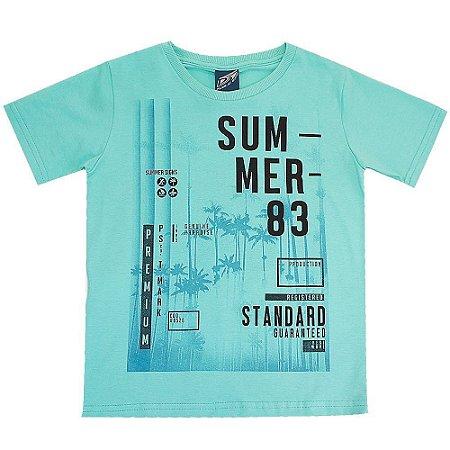 Camiseta Malha com Elastano Summer - Passagem Secreta