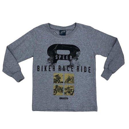 Camiseta Menino em Malha Biker Race - Passagem Secreta
