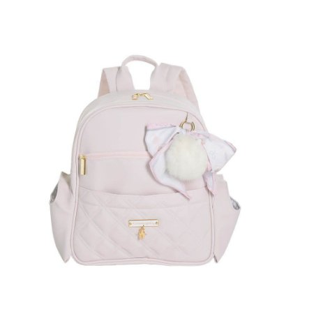 Mochila Maternidade Lú Ballet Rosa - Masterbag Baby