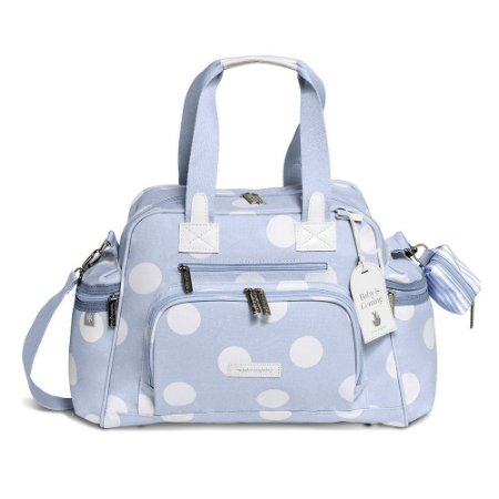 Bolsa Termica Everyday Bubbles Azul - Masterbag Baby