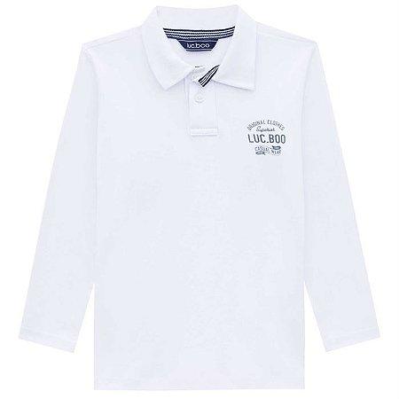 Camiseta Infantil Masculina Polo Básico - Luc.Boo
