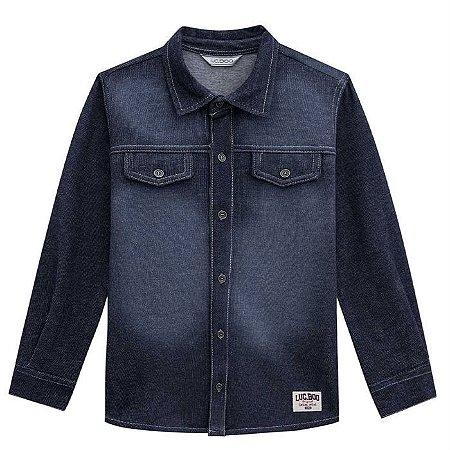 Camisa Infantil Masculina Jeans - Luc.Boo