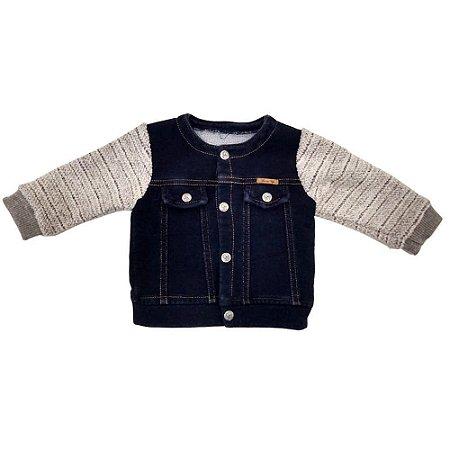 Jaqueta Infantil Menino Jeans Molecotom - Grow Up