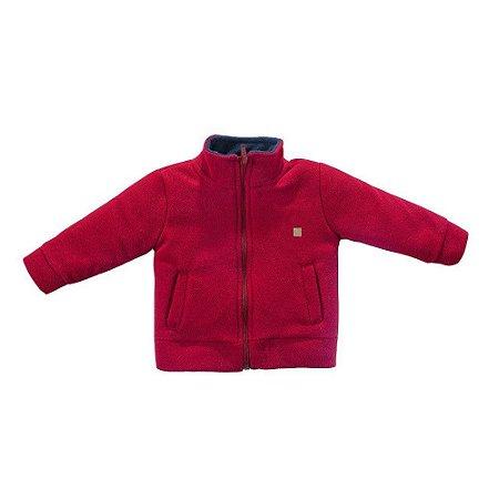 Casaco Infantil Masculino Soft com Ziper - Grow Up