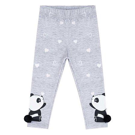 Calça Infantil Feminina Panda - Kukiê