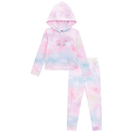 Conjunto Infantil Feminino Girl Tie Dye - Kukiê