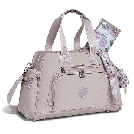 Bolsa Maternidade Everyday Flora Rosé - Masterbag Baby
