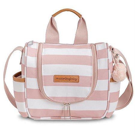 Frasqueira Maternidade Emy Brooklyn Rosa - Masterbag Baby