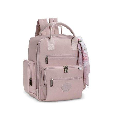 Mochila Maternidade Urban Flora Rosé - Masterbag Baby