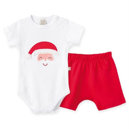 Conjunto Infantil Masculino Natal - Pingo Lelê