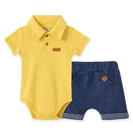 Conjunto Infantil Masculino Polo - Pingo Lelê