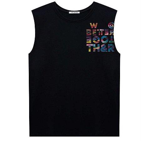Camiseta Infantil Masculina Regata Machão - Johnny Fox