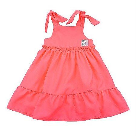Vestido Infantil Feminino Neon  - Mon Sucré