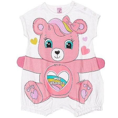 Macacão Infantil Feminino Ursa - Momi