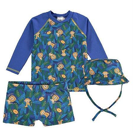 Conjunto Infantil Masculino Praia Safári - Luc.Boo