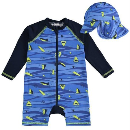 Conjunto Infantil Masculino Tubarão - Luc.Boo