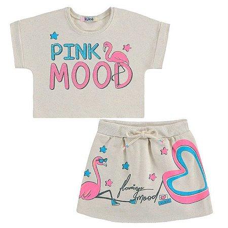 Conjunto Infantil Feminino Pink Mood - Kukiê