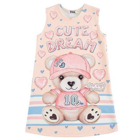 Vestido Infantil Feminino Cute Dream - Kukiê