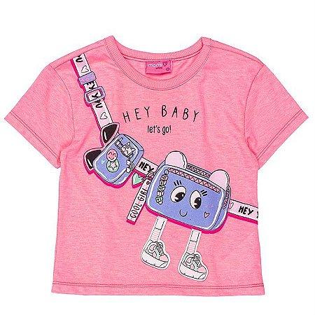 Blusa Infantil Feminino Perninhas - Momi