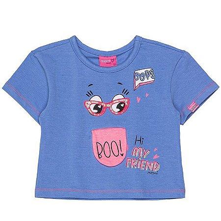Blusa Infantil Feminino Friends - Momi