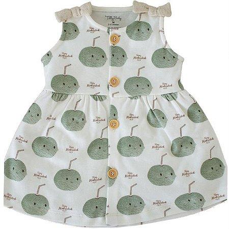 Vestido Infantil Feminino Coquinho - Tilly Baby