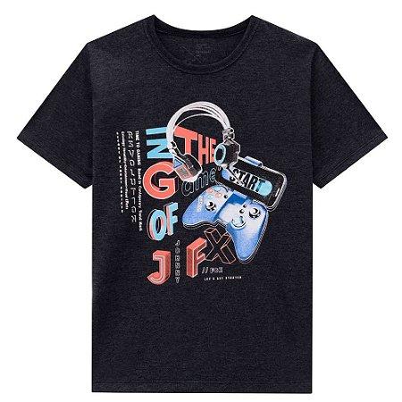Camiseta Infantil Masculino Gamer - Johnny Fox