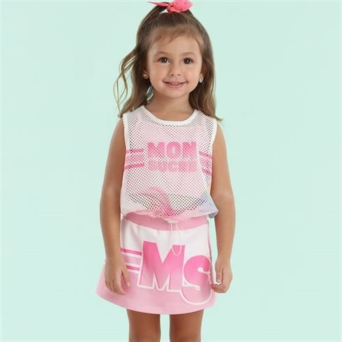 Conjunto Infantil Feminino MS  - Mon Sucré
