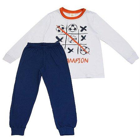 Pijama Infantil Masculino Champions - Have Fun