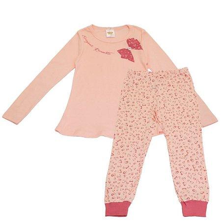 Pijama Infantil Feminino Laços - Have Fun