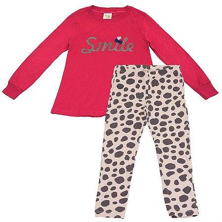 Pijama Infantil Feminino Smile - Have Fun