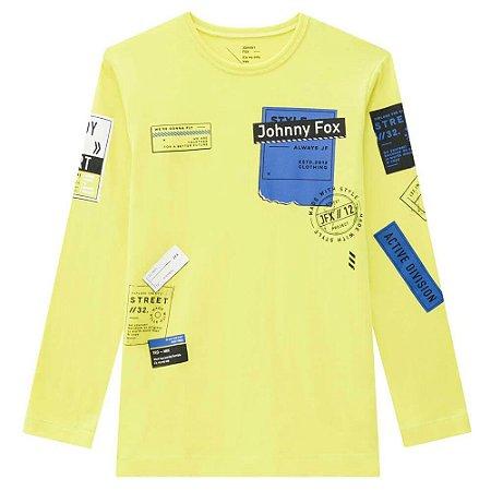 Camiseta Infantil Masculina Mailing - Johnny Fox