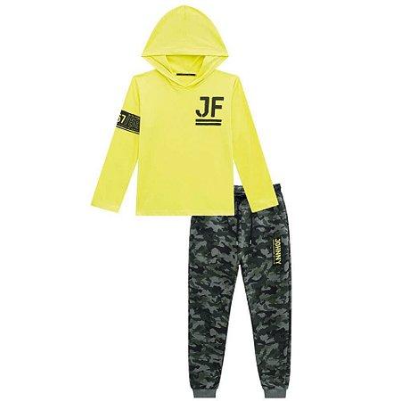 Conjunto Infantil Masculino Camuflado - Johnny Fox