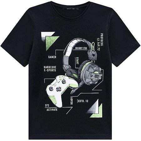 Camiseta Malha Gamer - Johnny Fox