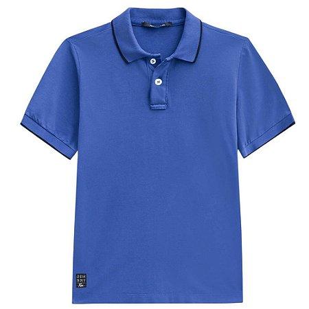 Camiseta Malha Gola Polo - Johnny Fox