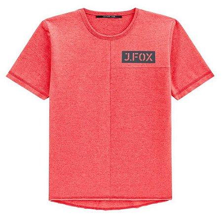 Camiseta Malha com Recortes - Johnny Fox