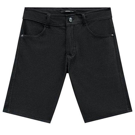 Bermuda Cotton Jeans Black - Johnny Fox