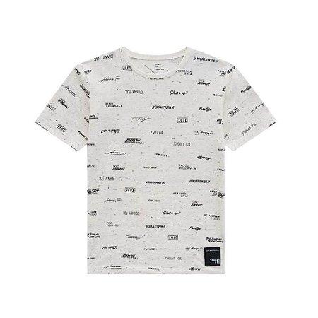 Camiseta Malha Botonê - Johnny Fox