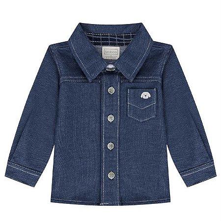 Camisa Infantil Masculina Denin - Luc.Boo