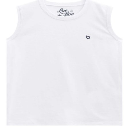 Camiseta Malha Regata Basica - Luc.Boo