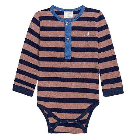 Body Infantil Menino Listras - Luc.boo