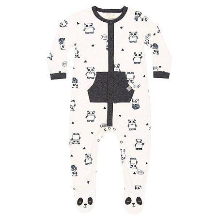 Macacão  Infantil Masculino Panda  - Luc.boo