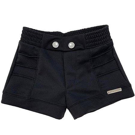 Shorts com Frisos - Kiki Xodó