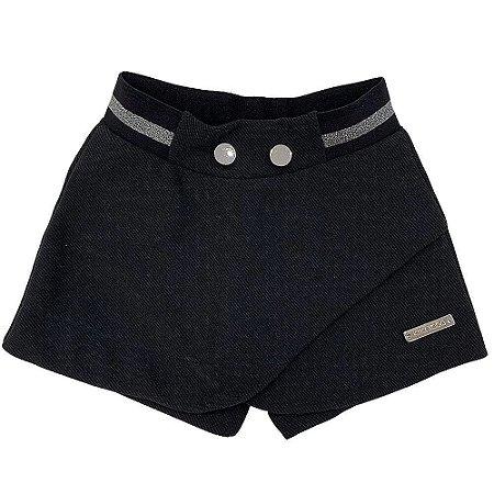 Shorts Saia Lurex - Kiki Xodó