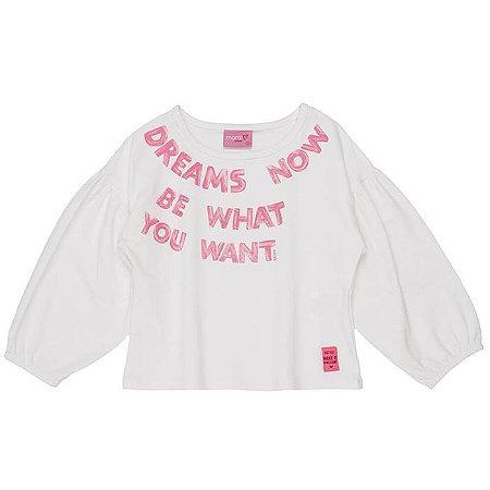 Blusa Infantil Feminina Dream - Momi